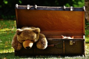 起伏の多い台北では軽量のスーツケースがおススメです。