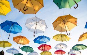 台湾の急な雨に備えて折り畳み傘は常備しましょう。