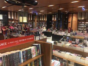 誠品書店では日本語書籍や洋書も取り扱っています。