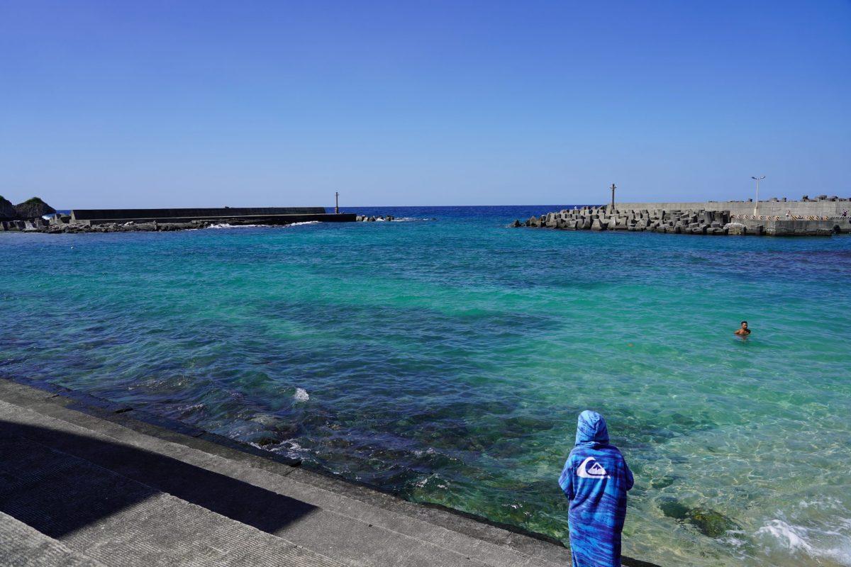 小琉球の港