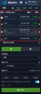BitoPro入金方法6